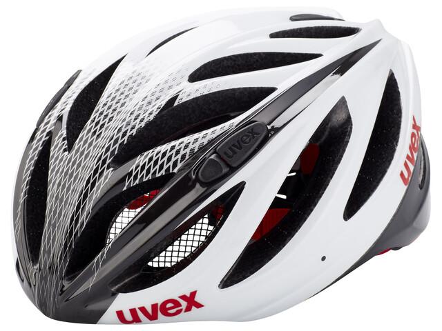 UVEX Boss Race - Casque de vélo - blanc/noir